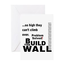 Build the Wall Greeting Card