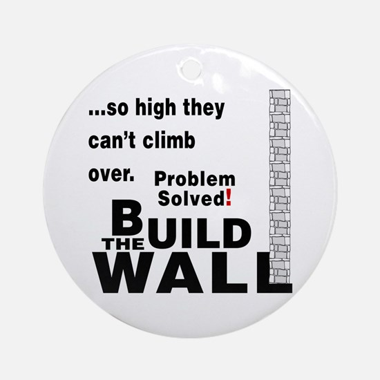 Build the Wall Ornament (Round)