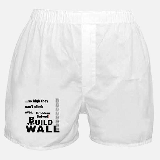 Build the Wall Boxer Shorts