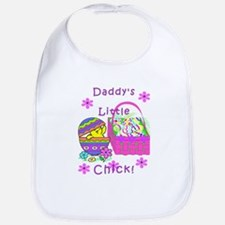 Daddy's Little Easter Chick Bib