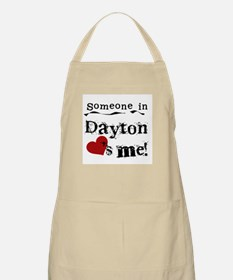 Dayton Loves Me BBQ Apron