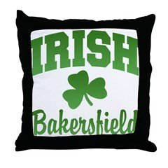 Bakersfield Irish Throw Pillow