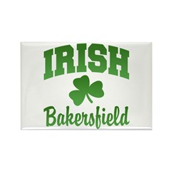 Bakersfield Irish Rectangle Magnet (10 pack)