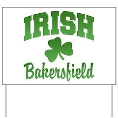 Bakersfield Irish Yard Sign