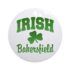 Bakersfield Irish Ornament (Round)