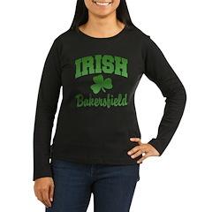 Bakersfield Irish Women's Long Sleeve Dark T-Shirt