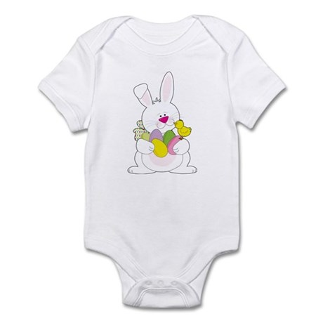 Easter Bunny and Chick Infant Bodysuit