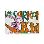 24 Carrot Kid Rectangle Magnet