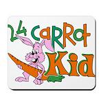 24 Carrot Kid Mousepad