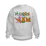 24 Carrot Kid Kids Sweatshirt