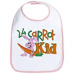 24 Carrot Kid Bib