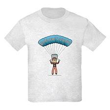 Blonde Sky Diver T-Shirt