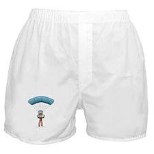 Blonde Sky Diver Boxer Shorts