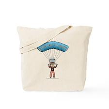 Blonde Sky Diver Tote Bag