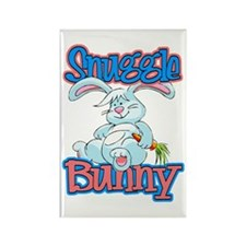 Snuggle Bunny Rectangle Magnet