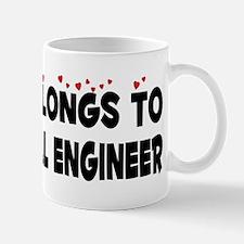 Belongs To A Biomedical Engineer Mug
