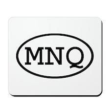 MNQ Oval Mousepad