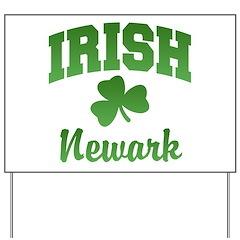 Newark Irish Yard Sign