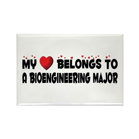 Belongs To A Bioengineering Major Rectangle Magnet