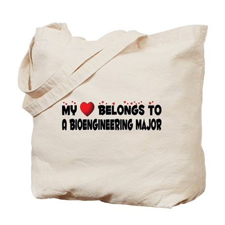 Belongs To A Bioengineering Major Tote Bag