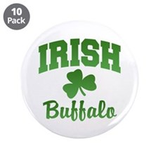 "Buffalo Irish 3.5"" Button (10 pack)"