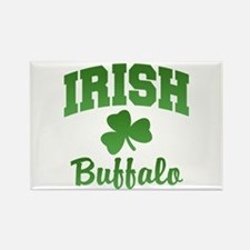 Buffalo Irish Rectangle Magnet