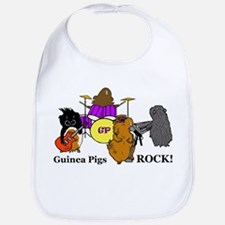 Guinea Pigs Rock! Bib