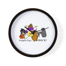 Guinea Pigs Rock! Wall Clock