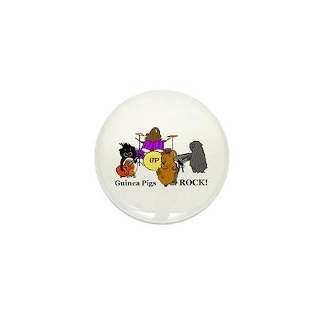 Guinea Pigs Rock! Mini Button (100 pack)