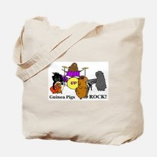 Guinea Pigs Rock! Tote Bag