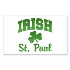 St. Paul Irish Rectangle Decal
