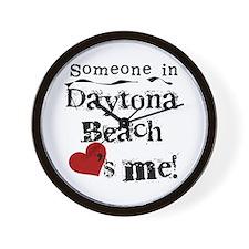 Daytona Beach Loves Me Wall Clock