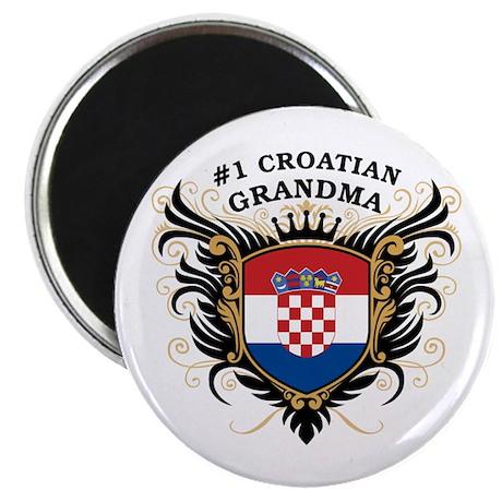 Number One Croatian Grandma Magnet