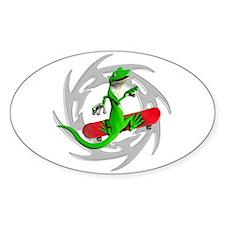 Skateboard Gecko Decal