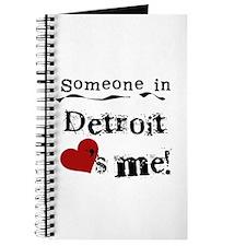 Detroit Loves Me Journal
