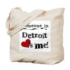 Detroit Loves Me Tote Bag