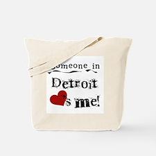 Detroit Loves Me Tote Bag
