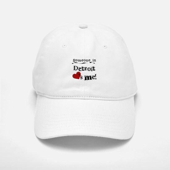Detroit Loves Me Baseball Baseball Cap