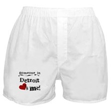 Detroit Loves Me Boxer Shorts