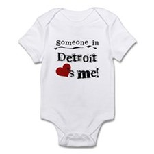 Detroit Loves Me Infant Bodysuit