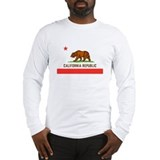 Bear flag republic Long Sleeve T-shirts