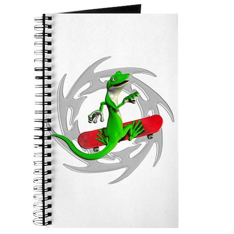 Skateboard Gecko Journal