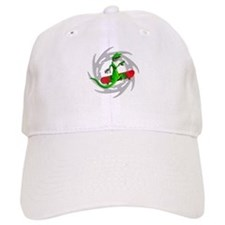 Skateboard Gecko Baseball Cap
