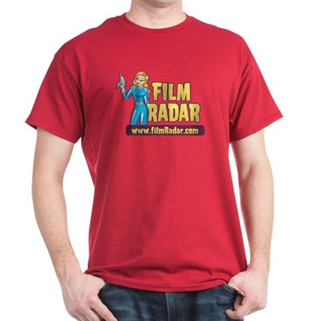 FilmRadar Deep Red Mens T-Shirt