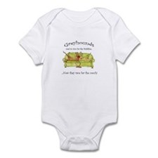 Racing For The Couch Infant Bodysuit