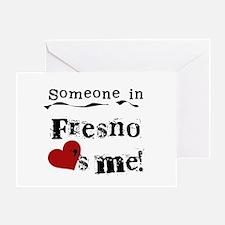 Fresno Loves Me Greeting Card
