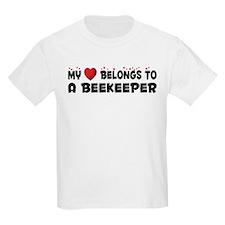 Belongs To A Beekeeper T-Shirt