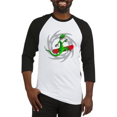 Skateboard Gecko Baseball Jersey