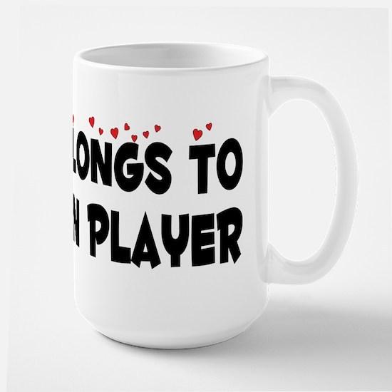 Belongs To A Bassoon Player Large Mug