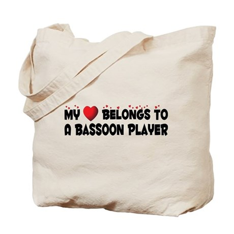 Belongs To A Bassoon Player Tote Bag